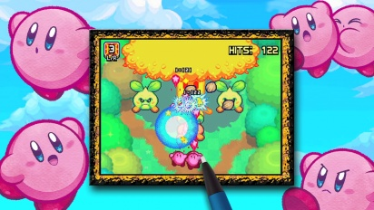 Kirby Mass Attack - minigames trailer