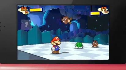 Paper Mario 3DS - TGS 2011 trailer