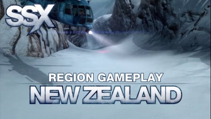 SSX - Regions - New Zealand Gameplay