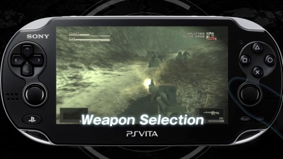 Metal Gear Solid HD PS Vita Launch Trailer