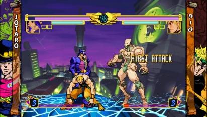 Jojo's Bizarre Adventure HD - Jotaro vs. Dio - Gameplay