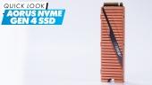 AORUS NVMe Gen4 SSD - Quick Look