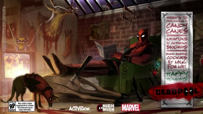 Deadpool - Happy Holidays from Deadpool