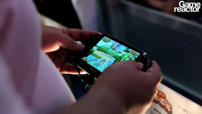 TGS 11: Super Monkey Ball Vita gameplay