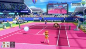 Mario Tennis Ultra Smash - Classic & Simple Doubles Gameplay - Daisy & Boo vs DK & Mario