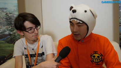 One Piece: World Seeker - Koji Nakajima Interview
