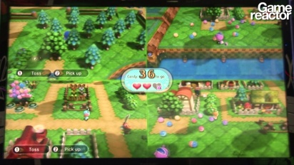 E3 12: Nintendo Land - Animal Crossing: Sweet Day - Gameplay