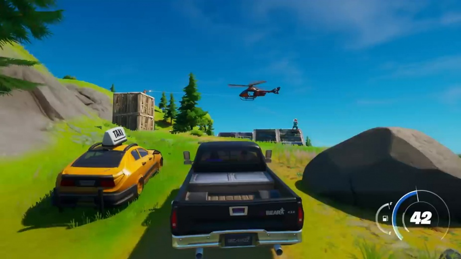 Vehicles Just Rolled Into Fortnite With Today S Joy Ride Update