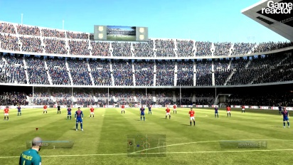 FIFA 12 - FC Barcelona vs Manchester United