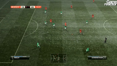 FIFA 12 gameplay Bayern Munich - Werder Bremen