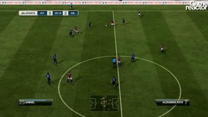 FiFA 12 gameplay Inter Milan - AC Milan