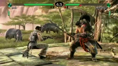 Soul Calibur IV - E3 2008: Nunchuck Knockout Trailer