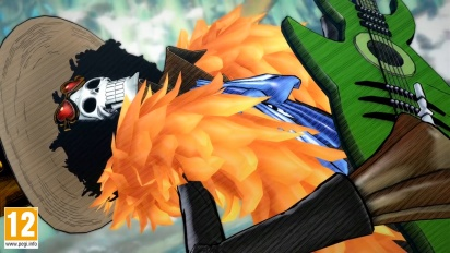 One Piece: Burning Blood - Brook Move Set - Trailer