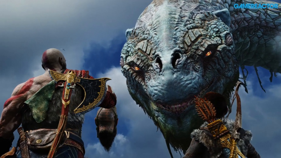 God Of War Talk With The World Serpent Spoilers