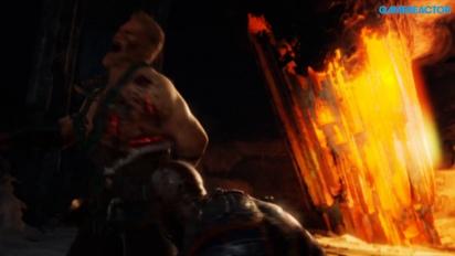 God of War - Fighting Magni and Modi (Spoilers)
