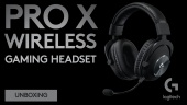 Logitech Pro X Wireless Gaming Headset Unboxing (Sponsored)