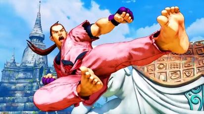 Street Fighter V: Champion Edition - Dan Hibiki Gameplay Trailer