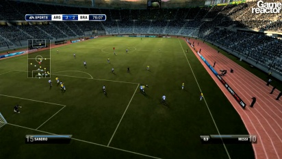 FIFA 12 - Be A Pro Gameplay
