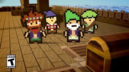 Pixel Piracy - Terraria Items Trailer PS4 & Xbox One