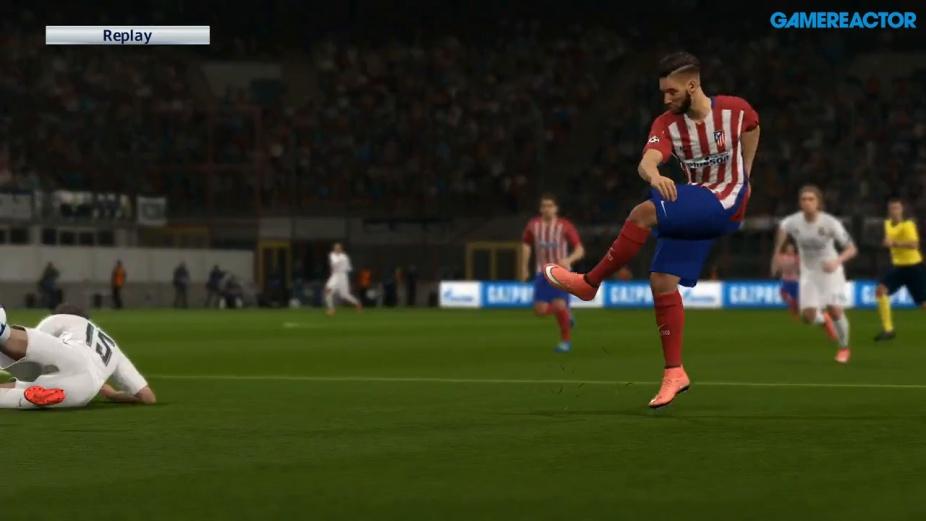 b8857d3663b PES 2016 - UEFA Champions League Final Real Madrid - Atlético Gameplay