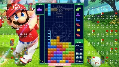 Tetris 99 x Mario Golf: Super Rush - A totally tee-rrific Grand Prix!