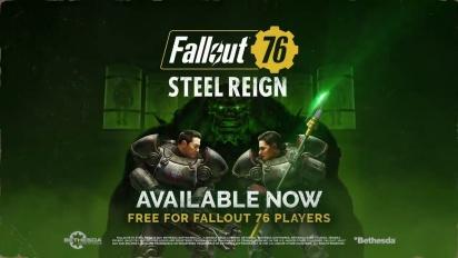 Fallout 76 - Steel Reign Launch Trailer