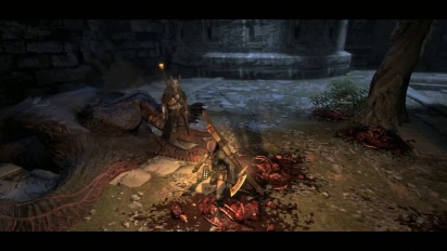 Dragon's Dogma - Dark Arisen: Necrophagous Enemies Gameplay Trailer