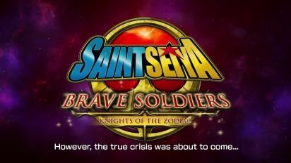 Saint Seiya: Brave Soldiers - Sanctuary Arc Trailer
