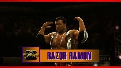 WWE 2K14 - Razor Ramon Entrance and Finisher Trailer