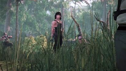 Rambo The Video Game - Machine of War Trailer