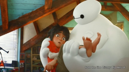 Kingdom Hearts III - Big Hero 6 Announcement Trailer