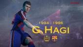 PES 2017 - 17 new FC Barcelona Legends