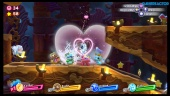 Kirby Star Allies - Donut Dome Gameplay