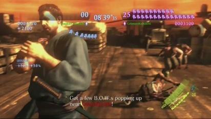 Resident Evil 6 - Onslaught High Seas Fortress: Neil vs Crimson Gameplay Trailer