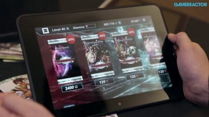 Tekken Card Tournament - Interview