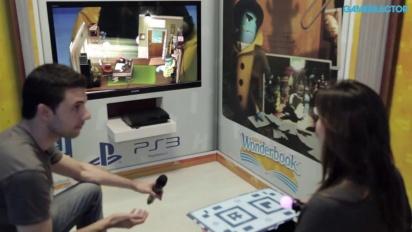 Wonderbook: Diggs Nightcrawler - Live gameplay demo