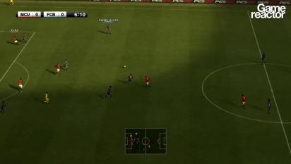 Pro Evolution Soccer 2012 - Manchester United vs. Barcelona gameplay