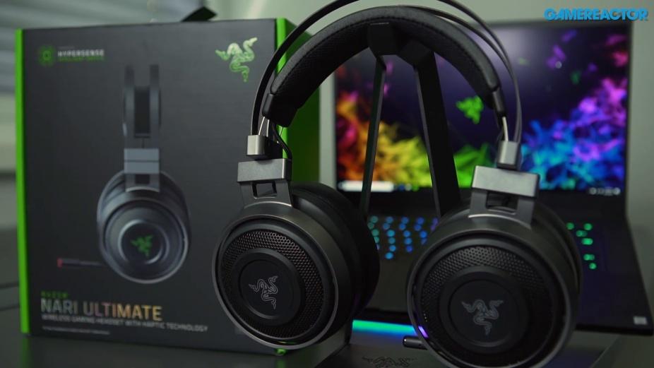 We take a closer look at the Razer Nari Ultimate - - Gamereactor