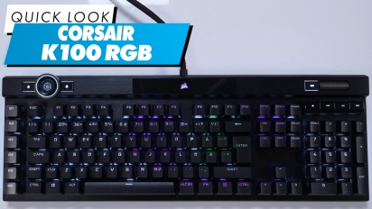 Corsair K100 RGB - Quick Look