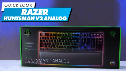 Razer Huntsman V2 Analog - Quick Look