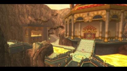 The Legend of Zelda: Skyward Sword - Fire Sanctuary gameplay