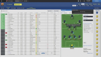 Football Manager 2014 - Real Team Tactics Ep.1 - Barcelona Tiki-Taka