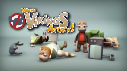 When Vikings Attack - Gamescom Trailer
