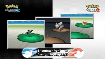 Pokémon Black/White 2 - New Features Trailer