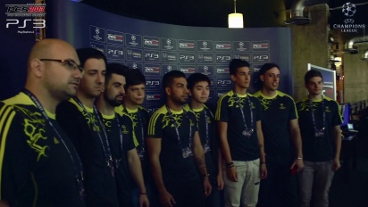 Pro Evolution Soccer - UEFA Champions Festival Tournament Teaser
