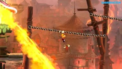 Rayman Legends - Teensies In Trouble - Castle Rock Gameplay