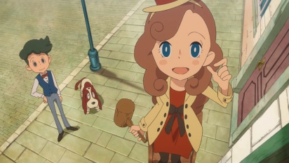 Lady Layton: The Millionaire Ariadone's Conspiracy - Japanese Trailer