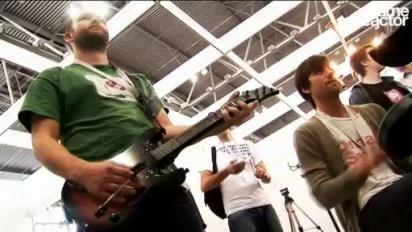 GC08 Guitar Hero: WT Special - Editors demonstrate