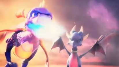 Spyro: Dawn of the Dragon - Ray of Hope Trailer