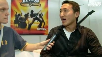 GC08 Kai Huang interview on Guitar Hero
